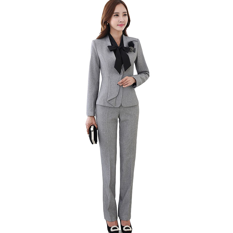 Excellent 2016 Grey Formal Chiffon Mother Of The Bride Pant Suits Shining Sequin Long Sleeve Jacket Plus Size Three Pieces