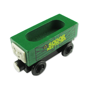 Toy thomas wooden thomas magnetic recovery vehicle wool small