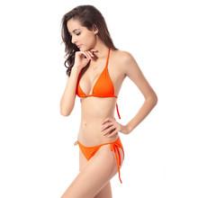 Summer New Sexy Swimwear Thong Women Bikini Bottom Only 2016 Hot Beach Swim Trunks Swimsuit Bow Women's Swimming Suit