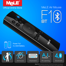 Fly Air Mouse Wireless QWERTY Keyboard Remote Control MeLE F10 BT Bluetooth Gyro IR Learning for Windows Mini PC Notebook Mac