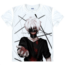 Tokyo Ghoul T-shirt kawaii Japanese Anime tshirt Handmade Manga Shirt Cute Cartoon Ken Kaneki Cosplay shirts 40398938927 tee 113