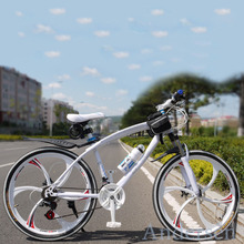 Free Shipping 26 Inch 21 Speed specialized mountain bike bicycle Double Disc Brake downhill mountain bikes Sell For Russia