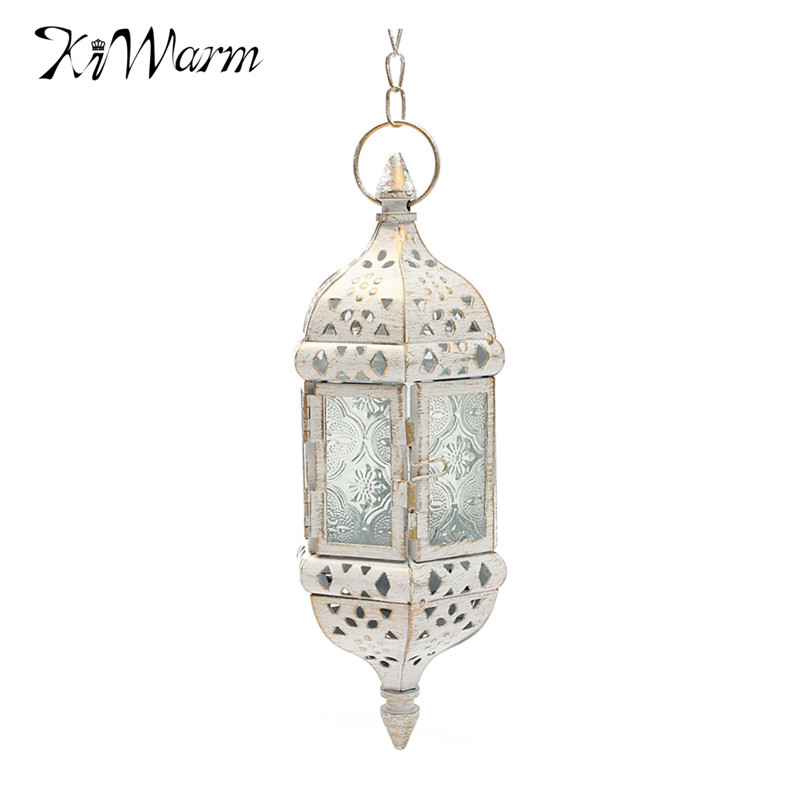 New Arrival Vintage Moroccan Style Glass Candleholder TeaLight Holder Candle Stand Hanging Lantern for Home Wedding Room Decor(China (Mainland))