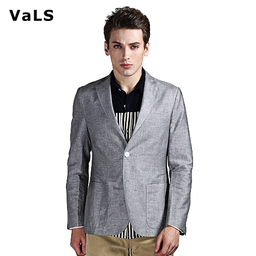 New Arrivals Brand Korean Style Men Blazer Jacket Suit, Fashion Casual Slim Fit Blazer Men with Khaki Blue Gray, High Quality(China (Mainland))