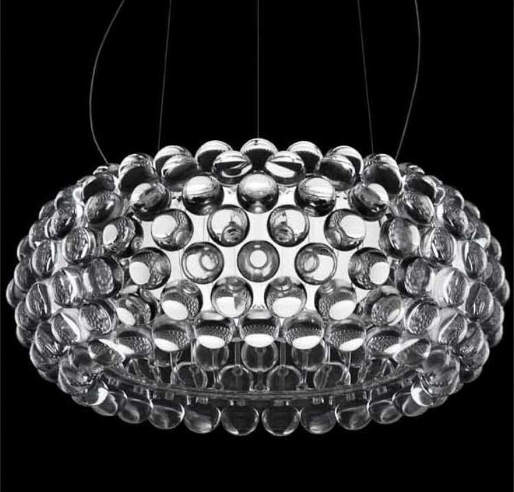 Ha condotto la lampadina moderna 50 cm, 65 cm foscarini caboche sfera ...
