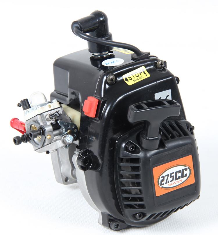 4 bolt 27.5CC Engine (WALBRO 668 NGK spark plug) 1/5 HPI Baja 5b 5t 5sc KM ROVAN 81007