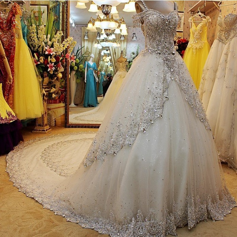 Romantic White Wedding Dress Vernassa Princess Bride Dress