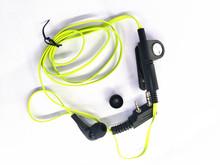 OPPXUN  baofeng radio 2pin K port earpiece ptt mic headset for handheld walkie talkie baofeng UV-5R UV-82 BF-888S Free ship