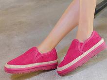 Rosa Rojo Negro Gris Marrón de Ante Piel de Vaca Punta Redonda Invierno nuevo, Además de Terciopelo Mujeres Botas de Nieve de Moda de Alta Calidad Acolchado zapatos(China (Mainland))