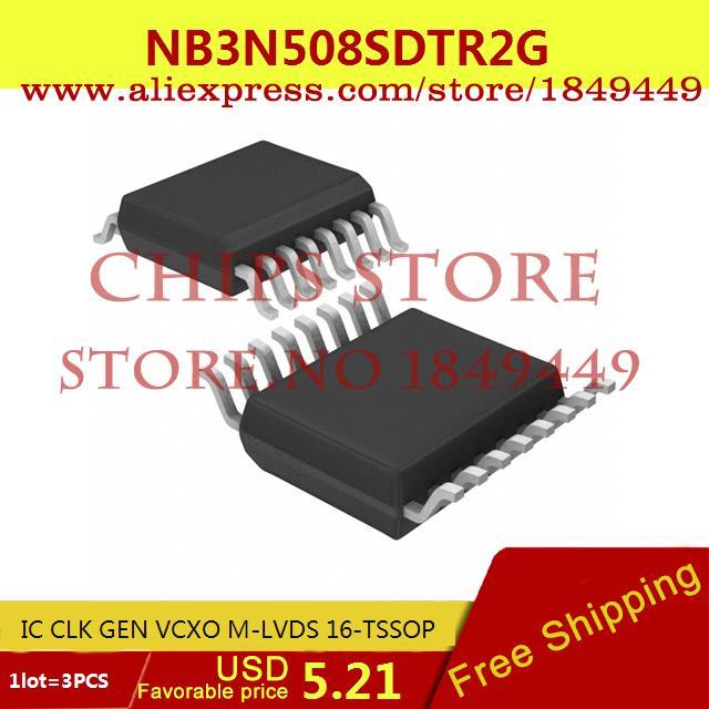 Бесплатная Доставка Integrated Circuit NB3N508SDTR2G IC CLK GEN VCXO M-LVDS 16-TSSOP 3N508 NB3N508 3 ШТ. cx9162b 3 3 voltage stabilization integrated circuit ic black 1000 pcs