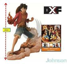 14-17CM One Piece Banpresto One Piece DXF Figure Brothers Action Figure Model Movie Anime POP Gundam Toys