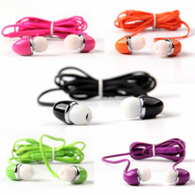 3.5mm Clear Studio In-ear Earphone Headset Headphones Earbuds Auriculares Earbud Noise For Mp3 Mp4 Player Samsung LG iPhone 5(China (Mainland))
