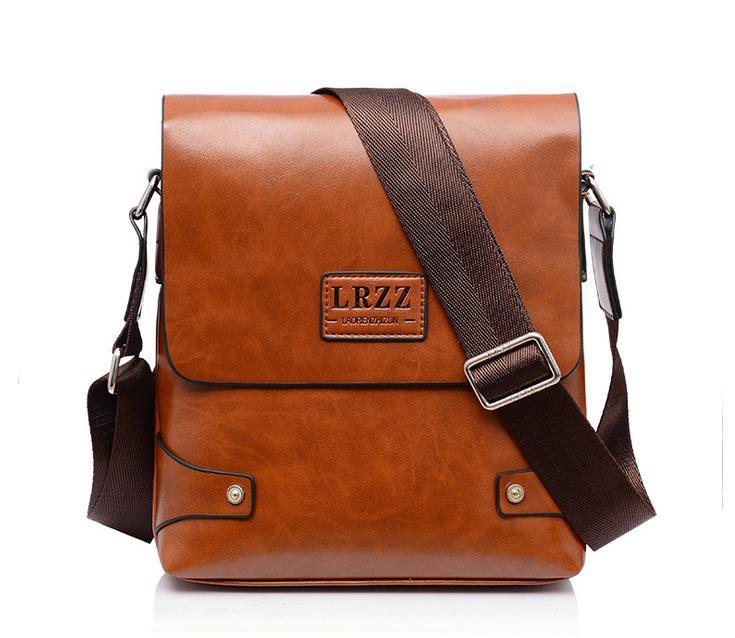 Man Messenger Bag PU Leather Men Bags Male Casual Vintage School Bolsa Shoulder Travel Fashion 2015 New Free shipping SG1039(China (Mainland))