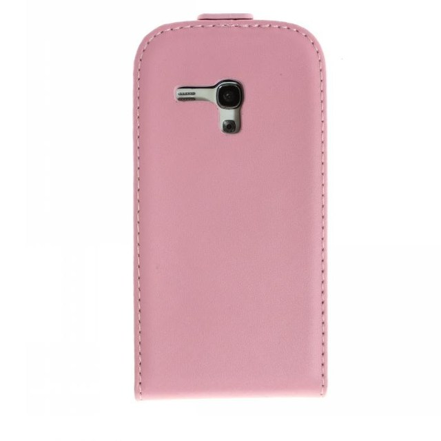 Flip Leather Case For Samsung Galaxy S3 Mini i8190 black white pink color leather pouch pouches Cover