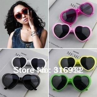 New! lovely peach heart sunglasses, special sun glasses, peach heart glasses, 10 pcs/lot
