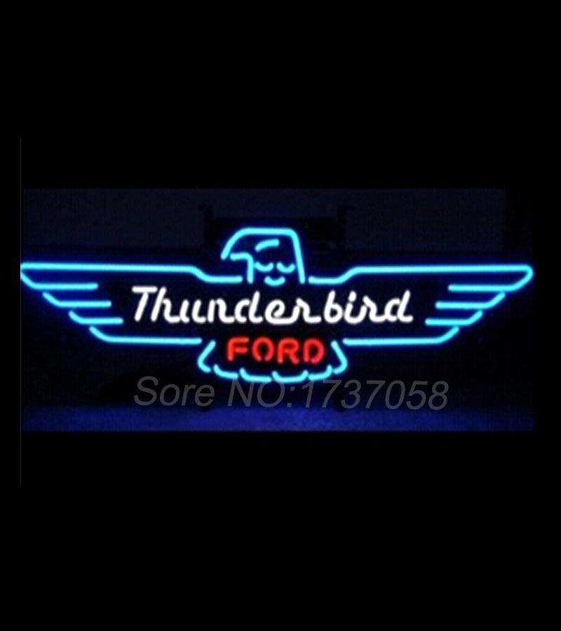 2016 Fashion Neon Sign Thunderbird Handcrafted Neon Light Sign Beer bar Sign 19x15 Custom Neon bulbs free design high quality(China (Mainland))