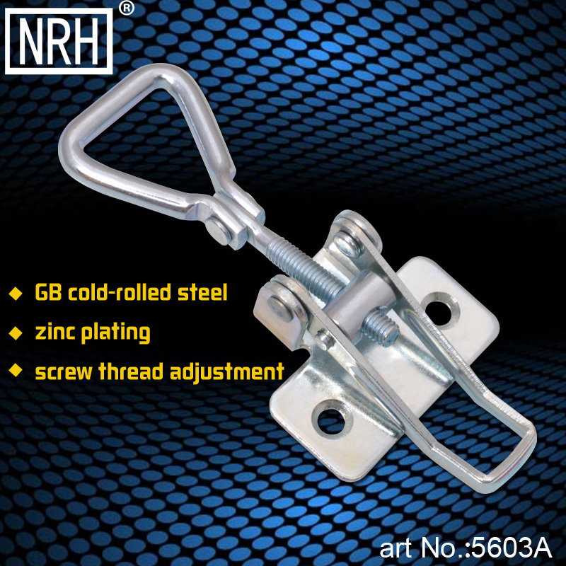 NRH 5603A GB cold rolled steel latch clamp Factory direct sales Wholesale price high quality thread adjustable Latch Clamp hasp(China (Mainland))