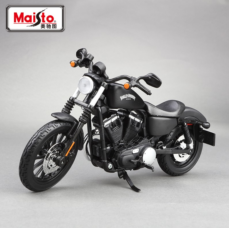 Maisto 1:12 Harley-davidson Motorcycle model Harley 883 The simulation alloy motorcycle factory authorized(China (Mainland))