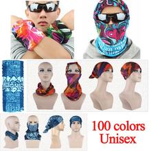 Unisex Turban Magic Headband Outdoor Sports Cycling Bike Bicycle Riding Veil Multi Head Scarf Scarves Face Bandana Mask