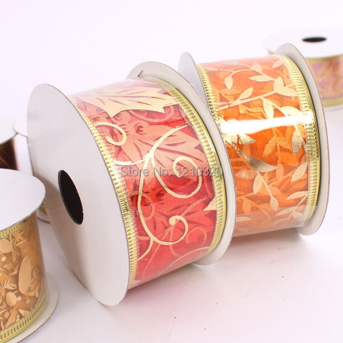 Christmas ribbon for tree decoration snow room decoration for Room decoration products