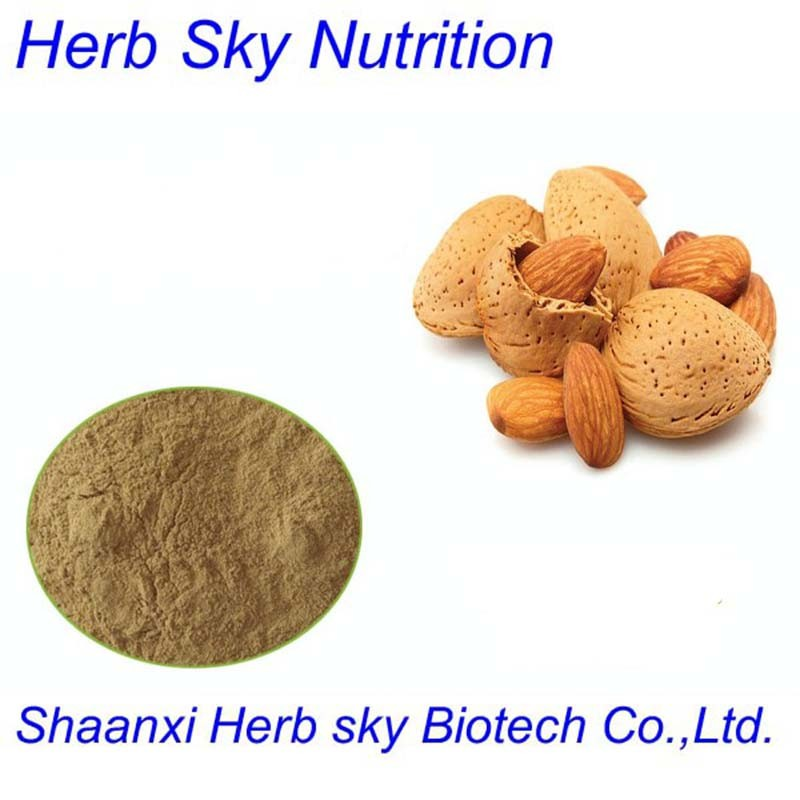 best selling herb extract!! Bitter Apricot Kernel Extract powder 10:1 300g/lot