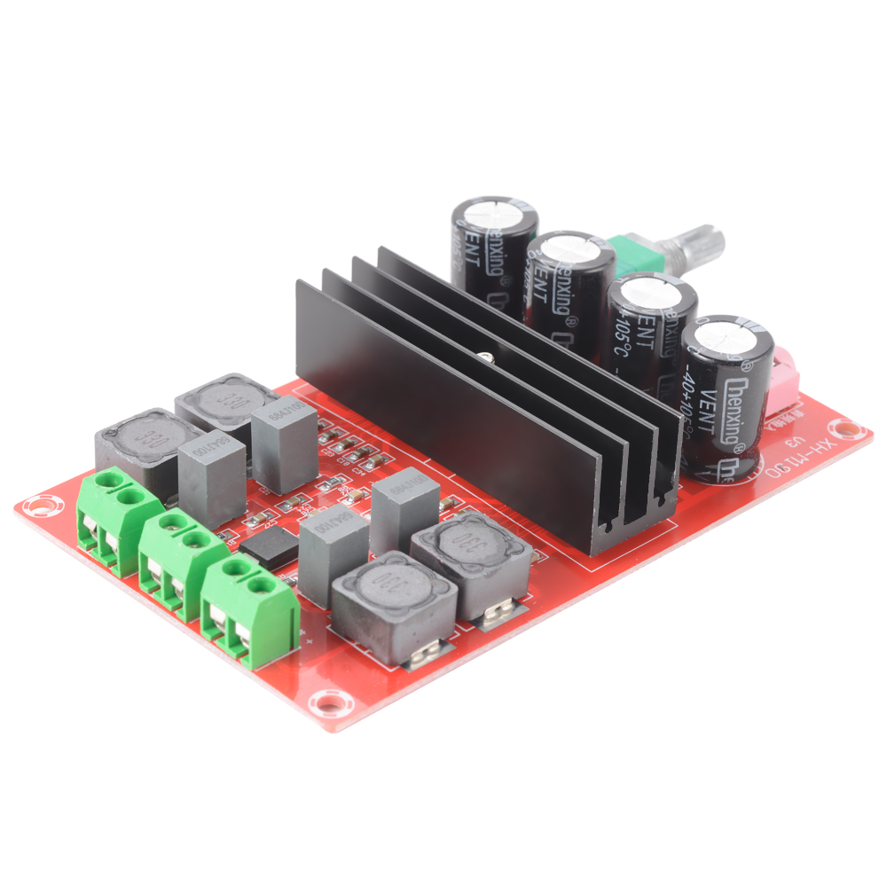 TPA3116D2 Dual Channel Digital Audio 2*100W Power Amplifier Board DC12-24V TE532(China (Mainland))