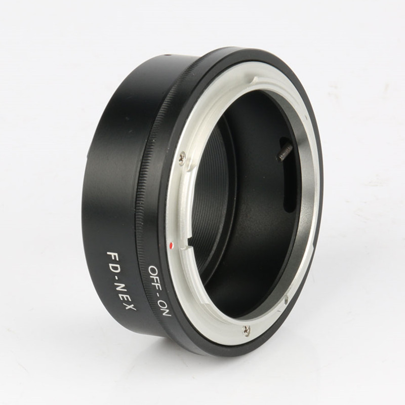 Manual Focus FD-NEX Lens Adapter Ring Lens Mount Canon FD Lens Fit Sony NEX E Mount Digital Camera