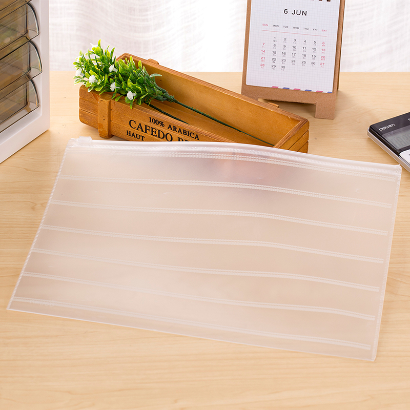 Deli 10pcs/Pack A4 A5 Size Plastic File Folder Bag Document Bag Presentation Folder Organ Bag Office School Supplies(China (Mainland))