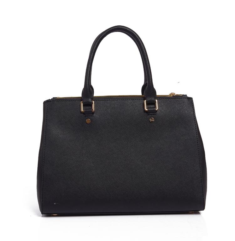 2014 NWT MICHAEL Sutton Saffiano Leather Medium Satchel Women Handbag Genuine Leather Bag Michael Bags With Retail Tag Dust Bag(China (Mainland))