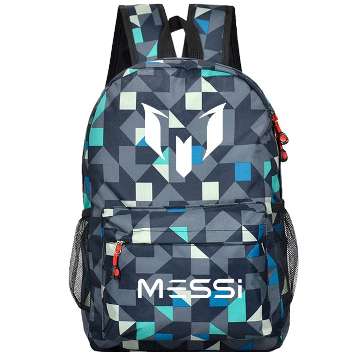 2016 Messi printing Teenagers School Book Backpacks Soccer Bag Football Shoulder Bags Sports Travel Bag Mochila Escolar(China (Mainland))