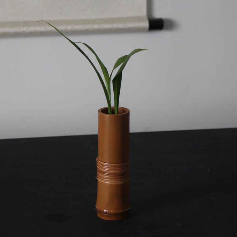 achetez en gros vase en bambou en ligne des grossistes vase en bambou chinois. Black Bedroom Furniture Sets. Home Design Ideas