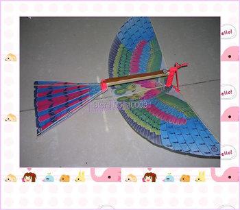 Intelligence assembling model ornithopter,Cordless kite,Children's toys free shipping