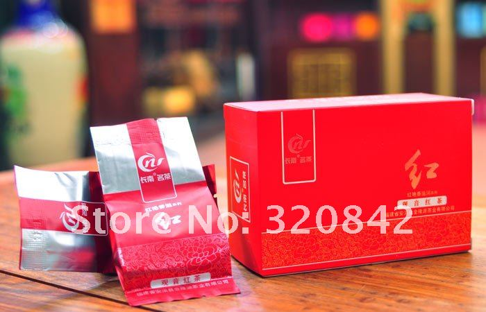 Гаджет  Free shipping 5g*12PCS=60g Chinese black tea premium gift tea Supreme Royal naturally organic matcha health original black tea None Еда
