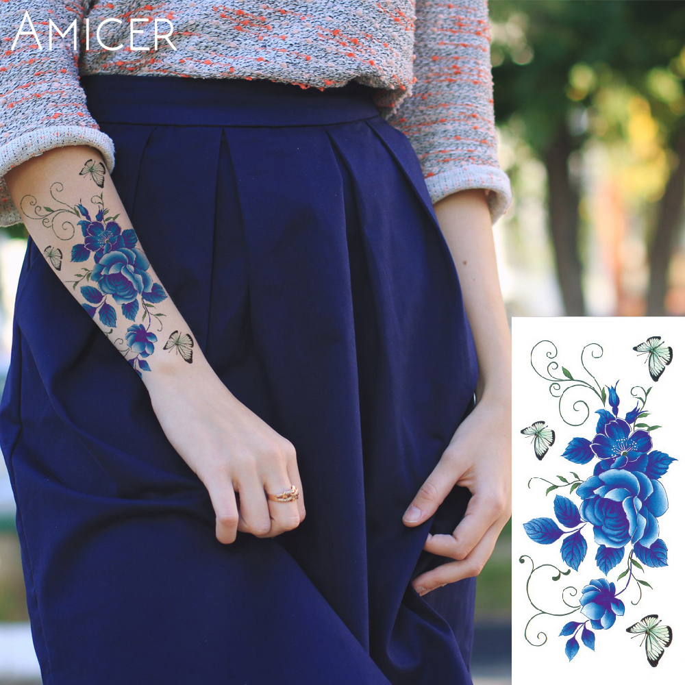 Online Buy Wholesale flowers tattoos from China flowers ...