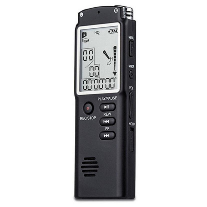 Best Price Hot Professional 8GB Time Display Recording Digital Voice/Audio Recorder MP3 Player JU6(China (Mainland))