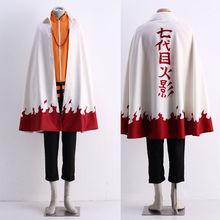 Buy Japanese Anime Naruto Uzumaki Naruto 12 Hokage Cosplay Costume Cloak Halloween Cos Headwear for $89.99 in AliExpress store