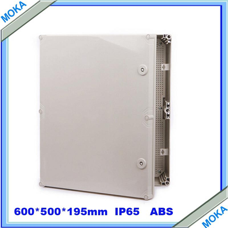 Quality Product ABS Material IP65 Standard waterproof Large Plastic Waterproof Boxes 600*500*195mm(China (Mainland))