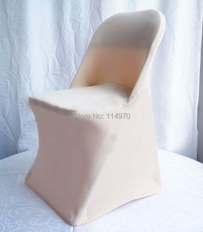free shipping 100pcs champagne wedding stretch folding