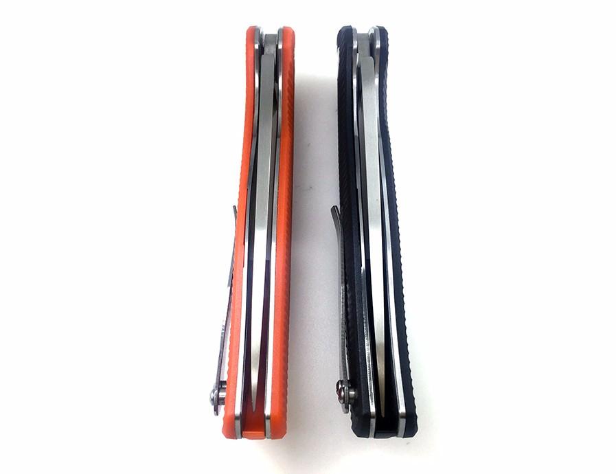 Buy WTT Bear F95 Tactical Folding Knife 440 Blade G10 Handle Ball Bearing Pocket Survival EDC Knives Utility Hunting Camping Tools cheap