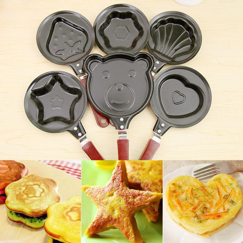 Cute Creative Kitchen Tool Mini Frying Pan Fried Eggs Pancakes Cooking Gift(China (Mainland))