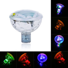 New Hot 5 Patterns Disco Aqua Underwater Glow Show Pond Cool LED Spa Tub Pool Light(China (Mainland))