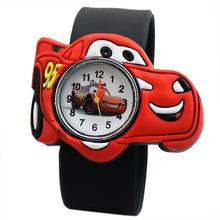 New Cartoon 2015 Child Silicone Boy Watch Children Kids Students Cartoon Watches Men Watches Relojes hombre Male hour Clock(China (Mainland))