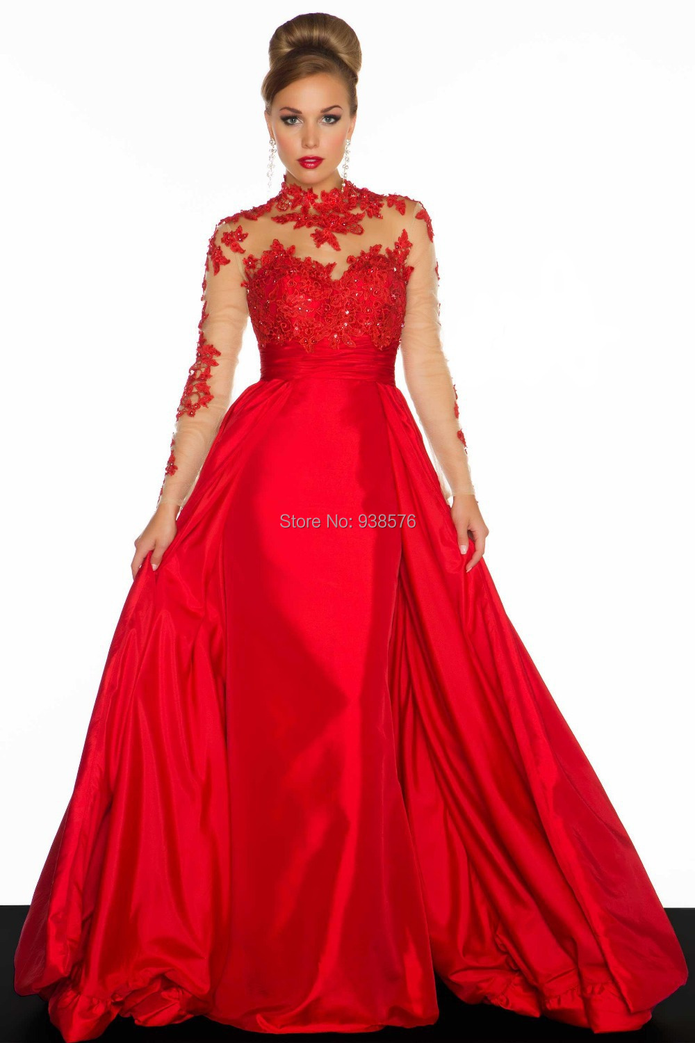 Plus Size Evening Gowns With Sleeves Plus Size Evening Gown For