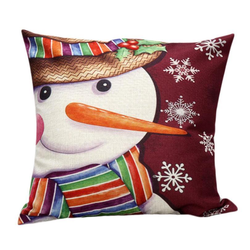 fashion heaven 45cm45cm christmas sofa bed home decor pillow case cushion coverjun