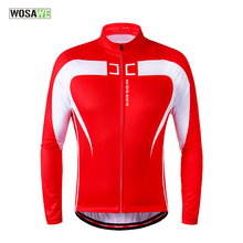 Buy WOSAWE Thermal Fleece Cycling Jersey Winter Warm Bicycle Clothing Windproof Long Sleeved Win Coat MTB Road Bike Jackets for $24.99 in AliExpress store