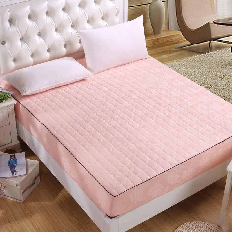 New Solid Luxury 100 Cotton Satin Jacquard Fitted Bed Bug