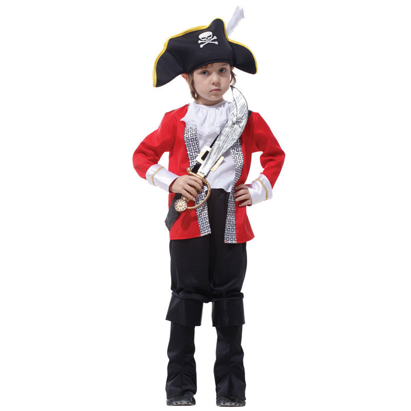 Children 39 s classic halloween costumes boys pirate costume for Diy halloween costumes for kid boy