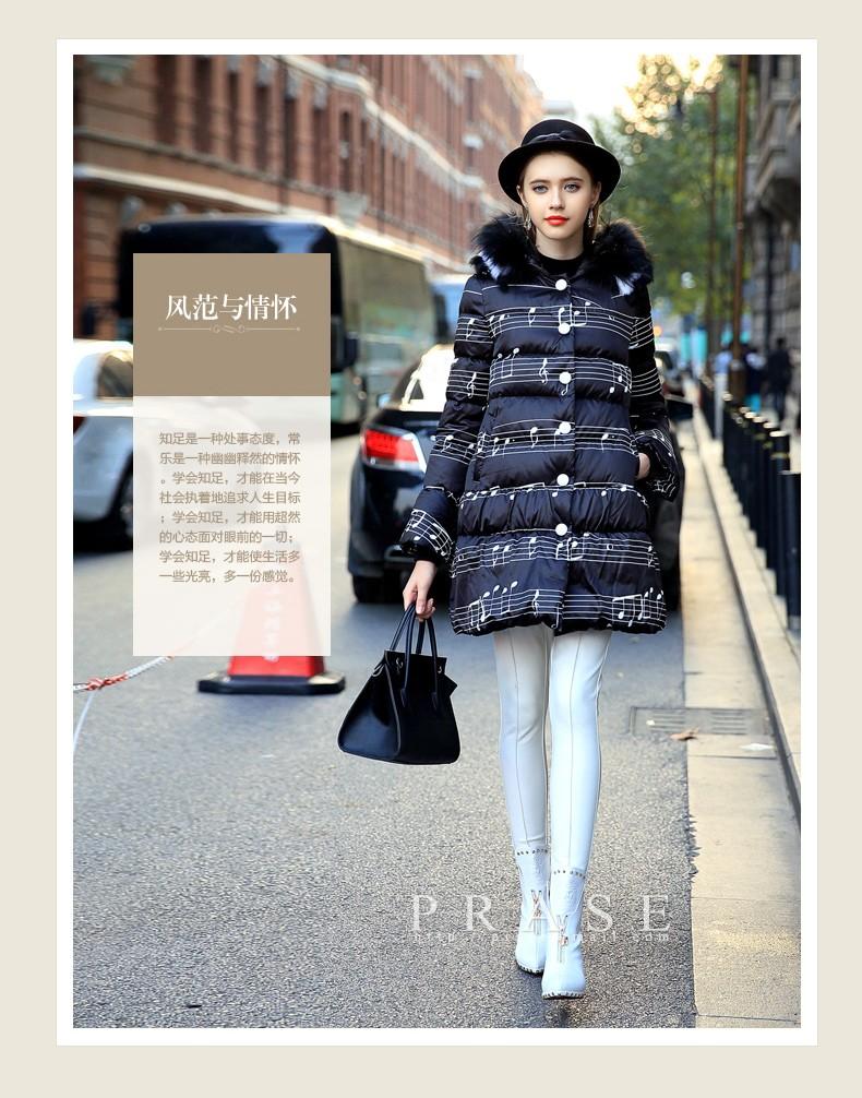 Luxury Raccoon Fox Fur Hood winter jacket women parka natural real fur coat for women thick soft abrigos de piel mujer 2016