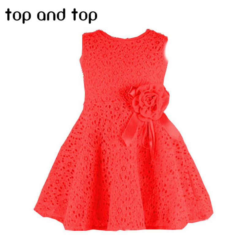 new summer dress lace casual dress lovely little party dress baby girl flower dress children clothes(China (Mainland))