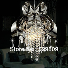 Wholesale Promotion &free Shipping Contracted Crystal Chandelier 4 Lighting (hot Selling) (China (Mainland))